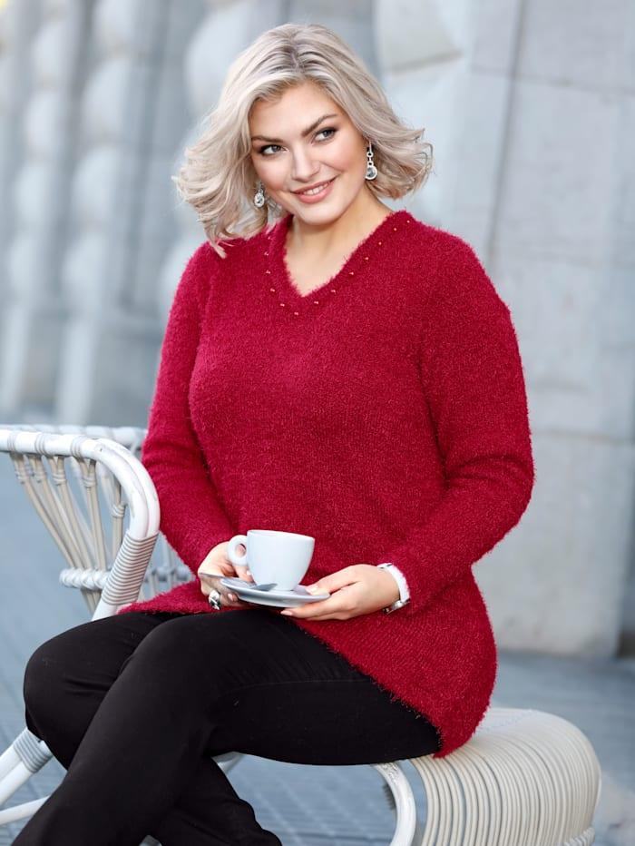 Pullover aus flauschiger Qualität