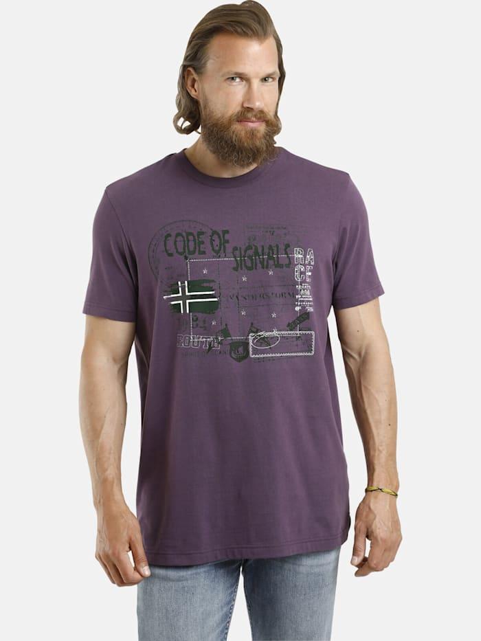 Jan Vanderstorm Jan Vanderstorm T-Shirt GJURD, rot