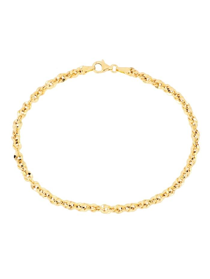 Grazielli Ankerarmband van 14 kt. goud, Geelgoudkleur