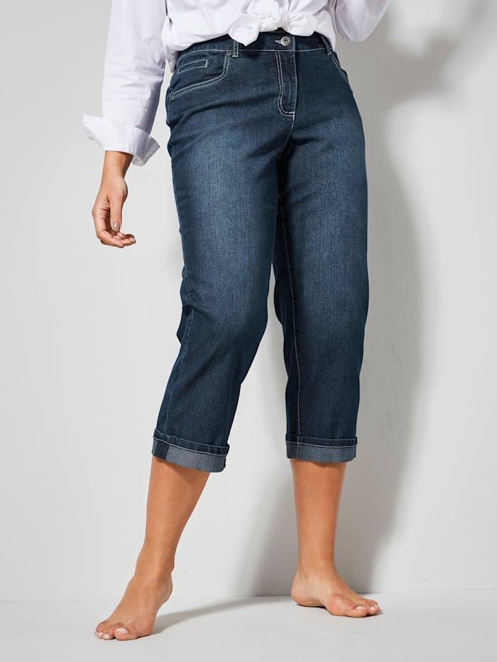 Dollywood Jeans AMY Straight Cut, Blau