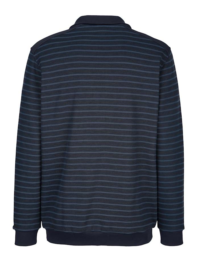 Sweatshirt met streeppatroon