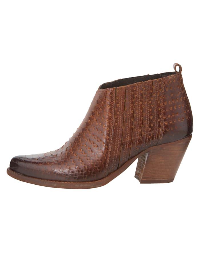 Low boots de style santiag très tendance