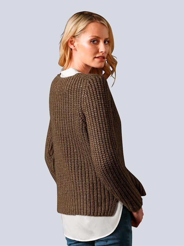 Pullover in Perfangoptik