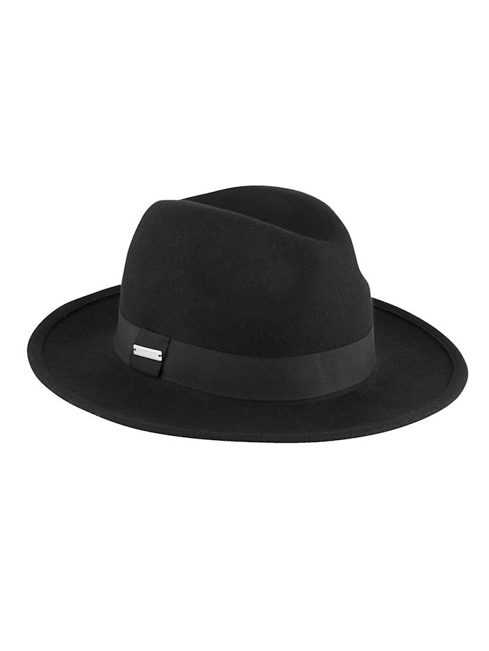 Filcový klobúk z čistej vlny