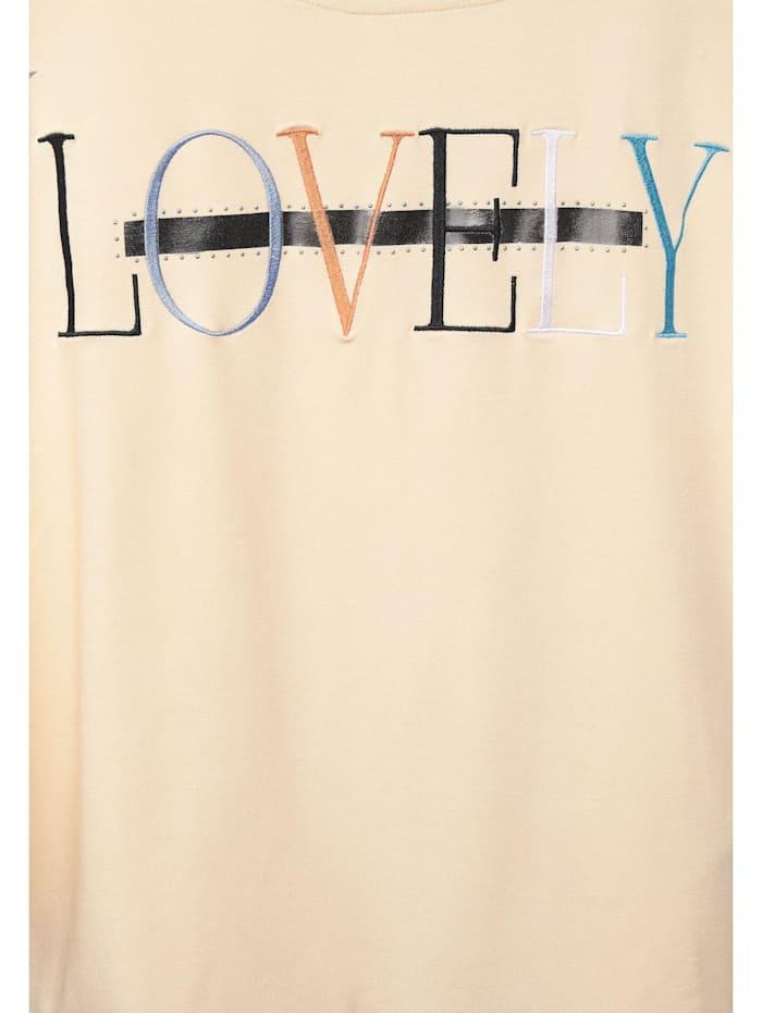 Cosy Shirt mit Print