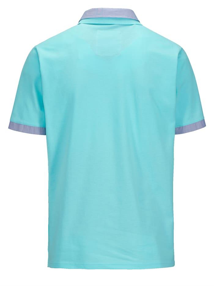 Poloshirt mit Doppelkragen