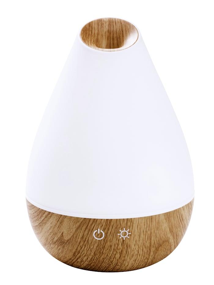 Promed Diffuseur d'arôme 'AL 1300 WS' pour pièces jusqu'à 30 m² avec lumières changeantes relaxantes (7 coloris), Blanc