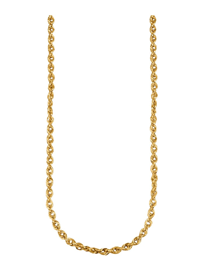 Diemer Gold Snorkjede i gull 585, Gullfarget