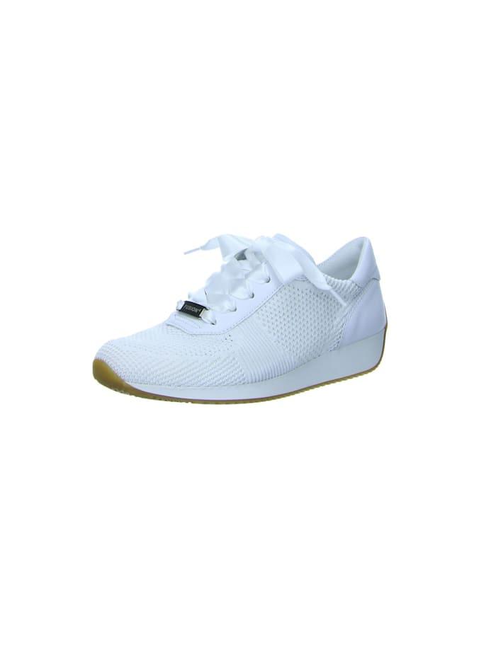 Ara Damen Schnürschuh in weiß, weiß