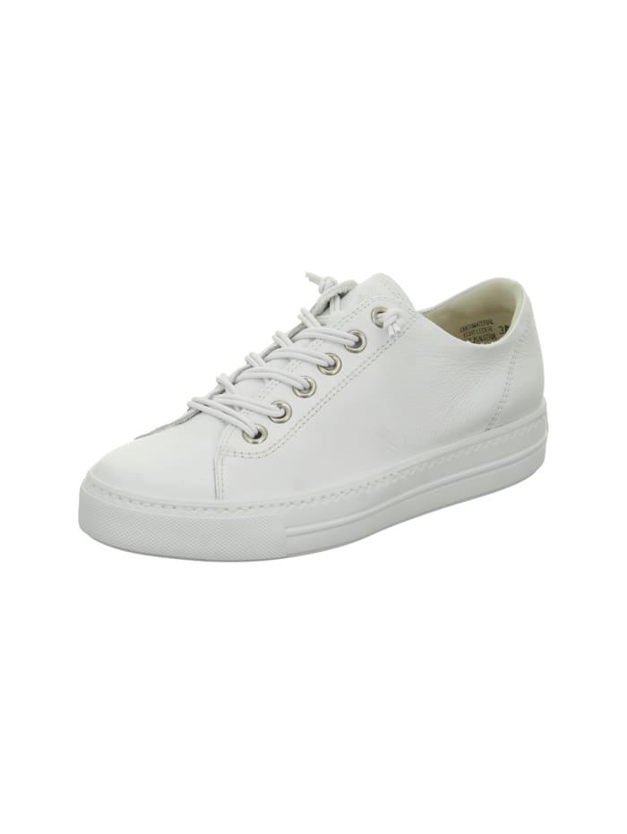 Paul Green Damen Schnürschuh in weiß, weiß