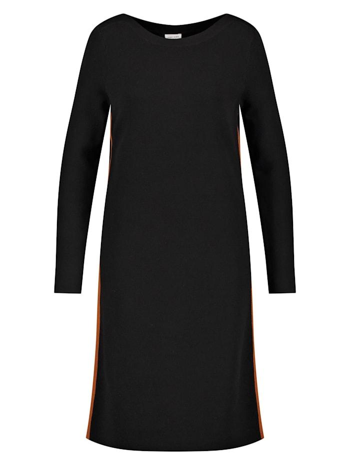 Gerry Weber Kleid aus feinem Strick, Schwarz