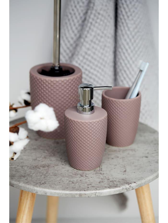 WC-Garnitur Punto Dark Taupe, Keramik
