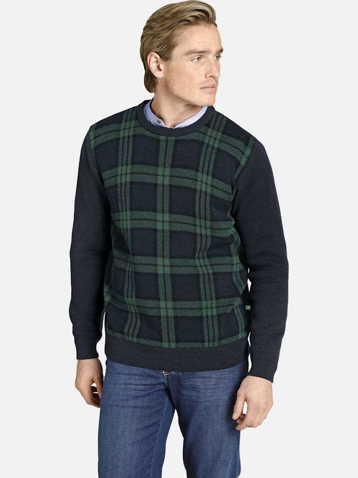 Charles Colby Charles Colby Pullover EARL ARTFUL, dunkelblau