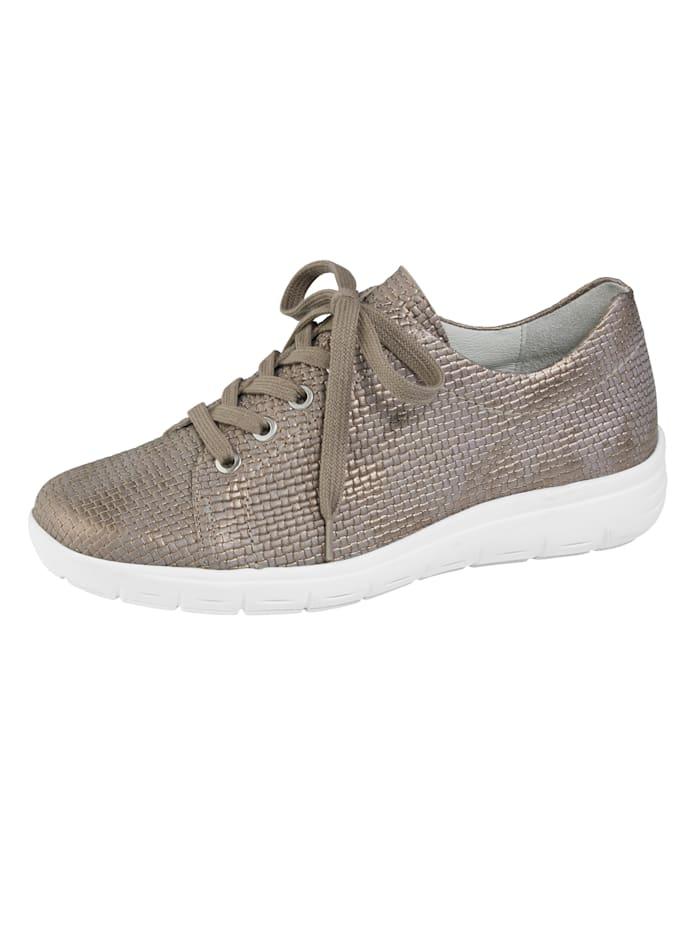 Vamos Sneakers à talon amortisseur, Coloris bronze