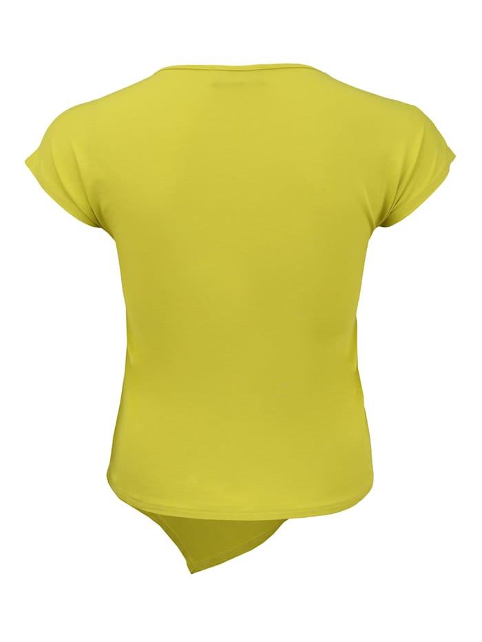 T-Shirt mit Steinbesatz Besatz
