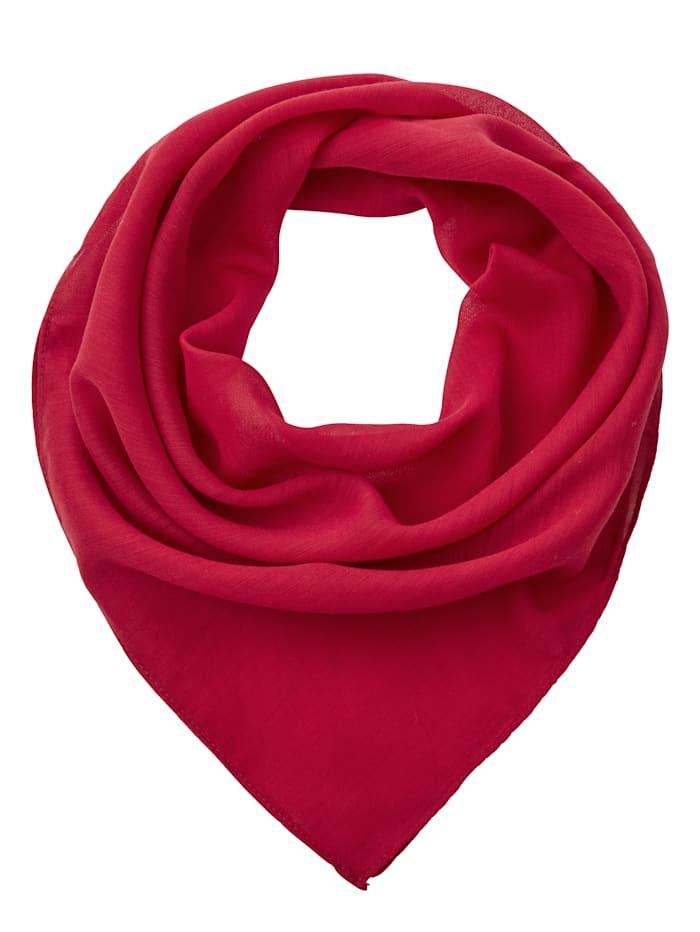 Paola Sjaaltje van soepel materiaal, rood