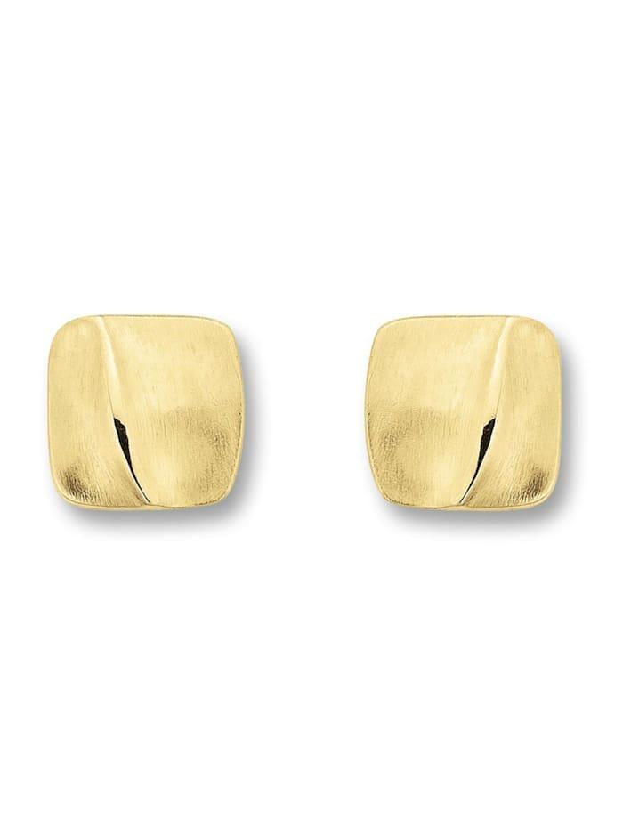 One Element Damen Schmuck Ohrringe / Ohrstecker aus 333 Gelbgold, gold