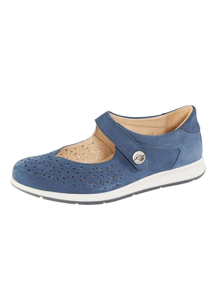 Ströber Klittenbandschoen, Blauw