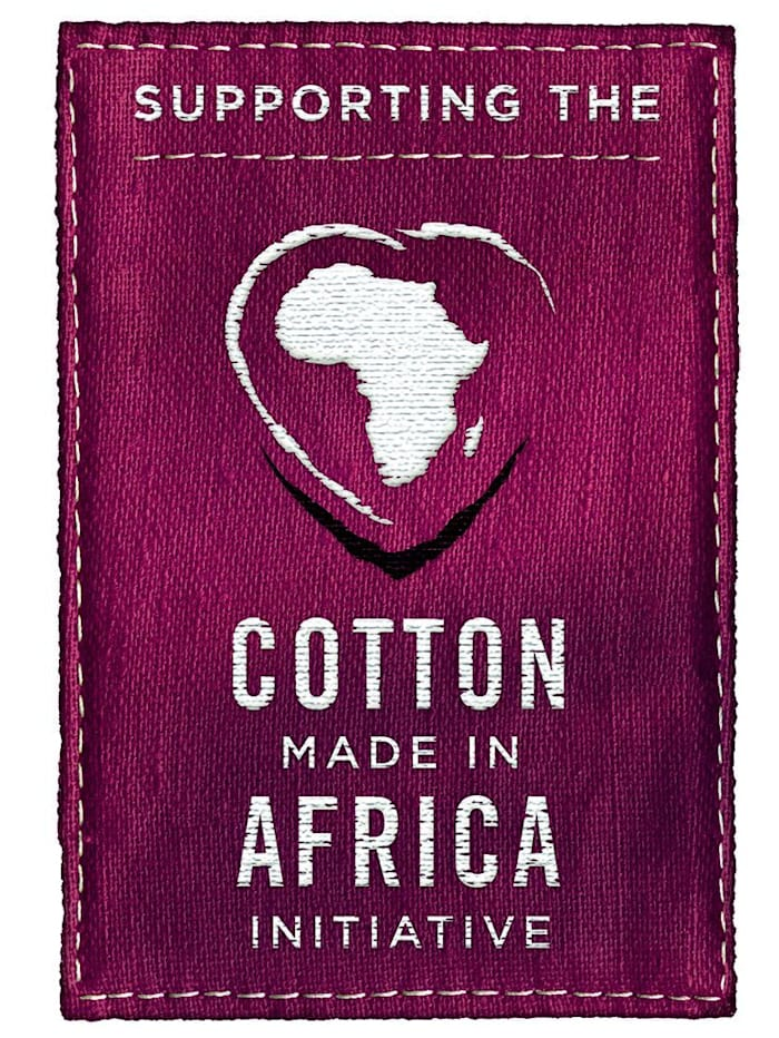 Pyjama uit de 'Cotton made in Africa'-collectie