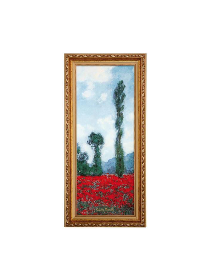 """Goebel Goebel Wandbild Claude Monet - """"Mohnfeld II"""", Monet - Mohnfeld"""