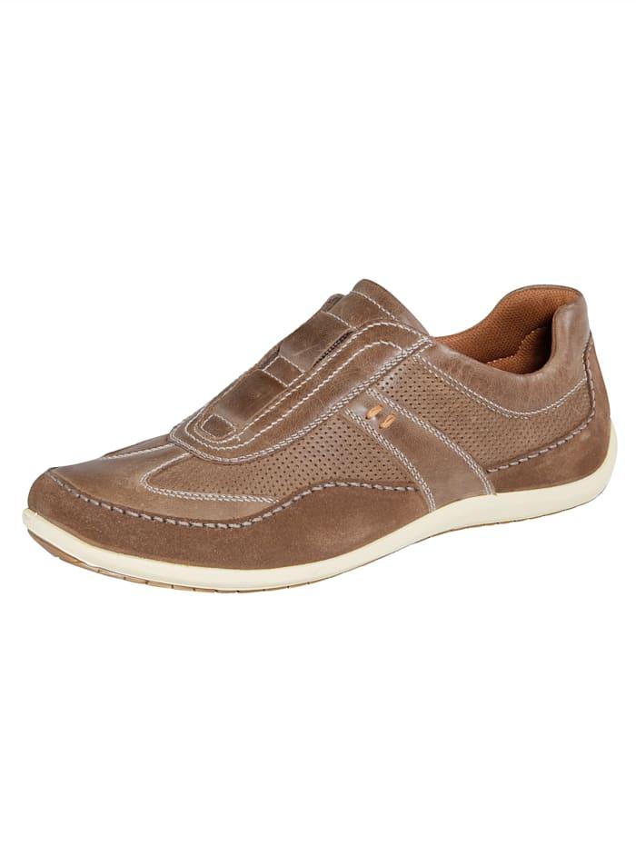 Slipper obuv so skrytou elastickou vsadkou