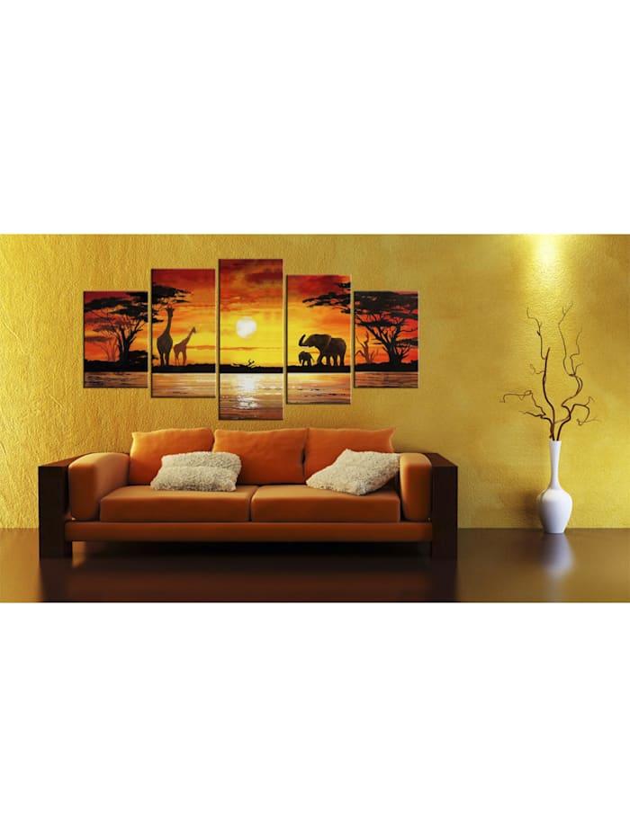 Wandbild Heiße Safari