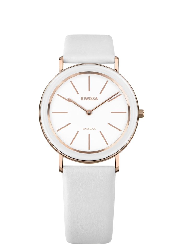 Jowissa Quarzuhr Alto Swiss Ladies Watch, weisß