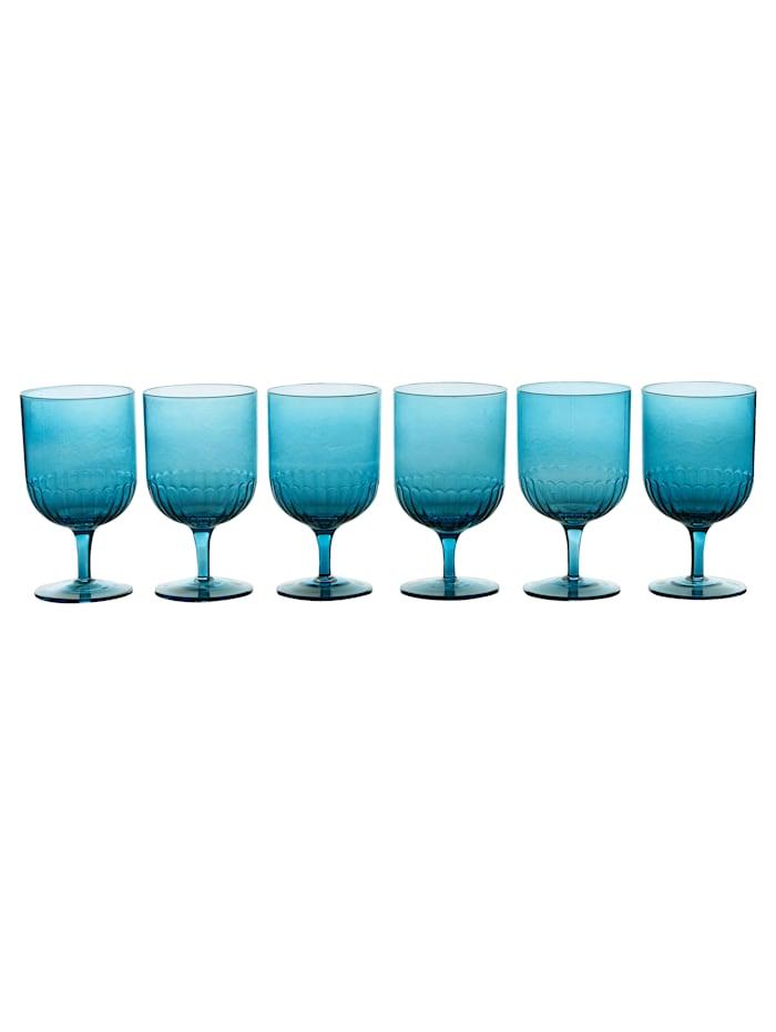 IMPRESSIONEN living Glas-Set, 6-tlg., blau