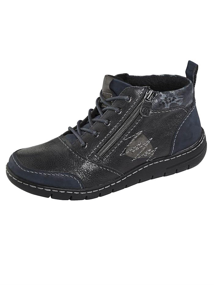 Naturläufer Boots lacées, Bleu