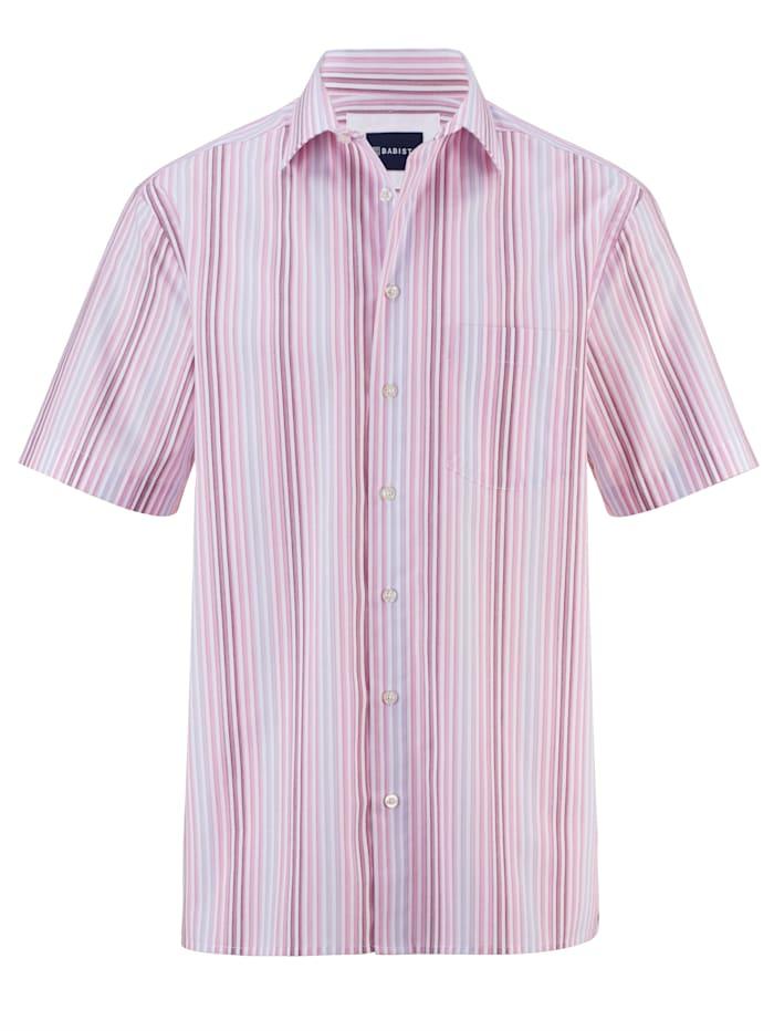 BABISTA Kortärmad skjorta i lättstruket material, Lila
