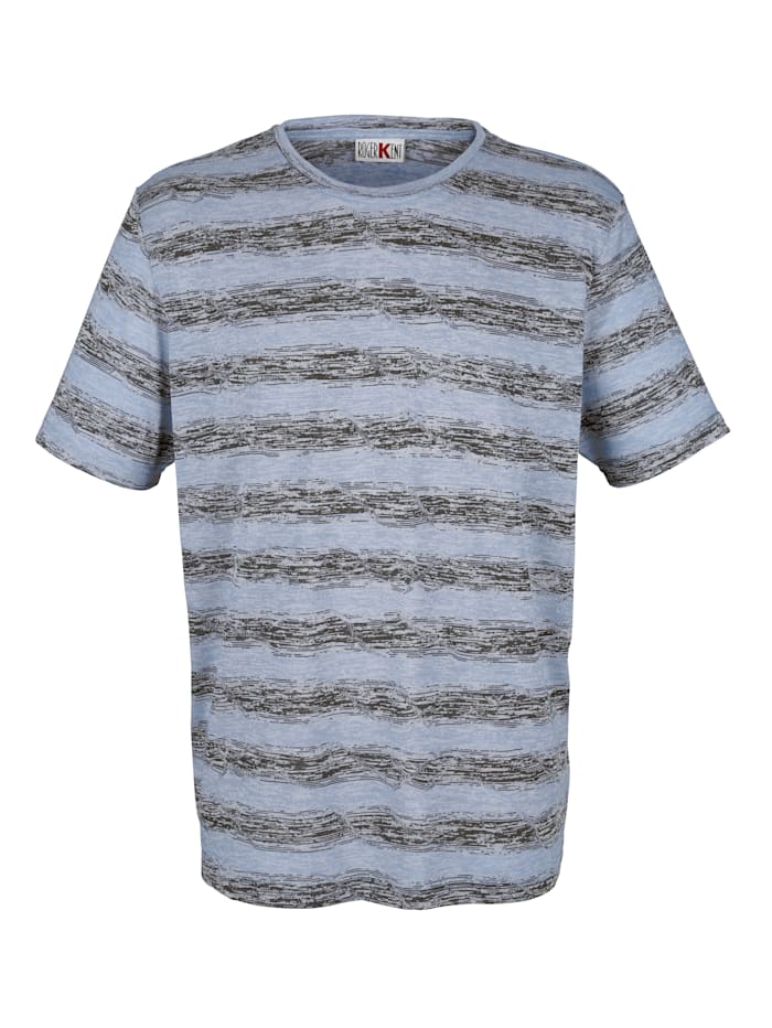 T-Shirt mit Jacquardmuster
