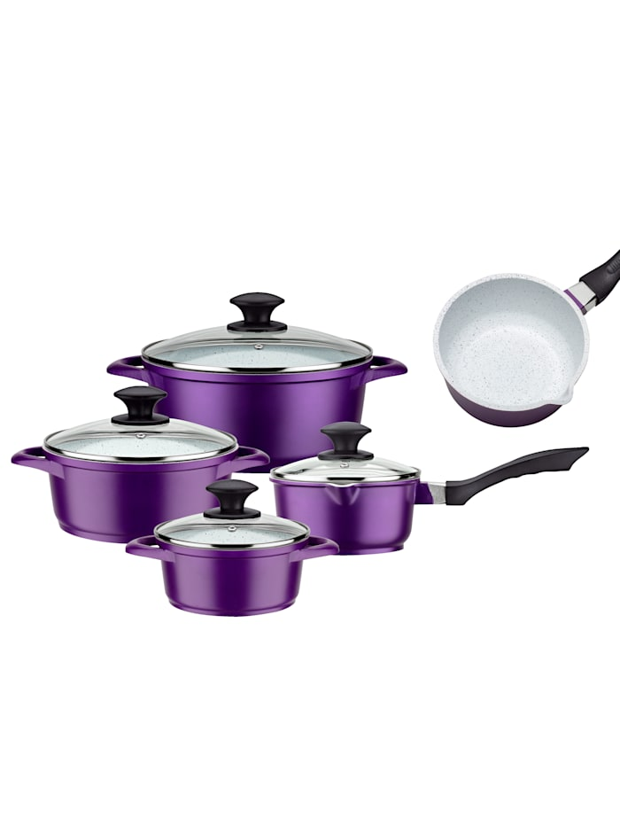 GSW Batterie de cuisine 8 pièces 'Violet Rose', Violet