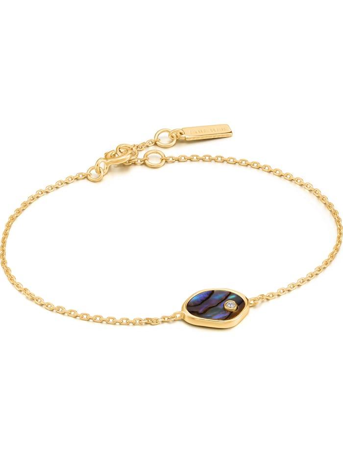 Ania Haie Ania Haie Damen-Armband 925er Silber 1 Farbstein, gold