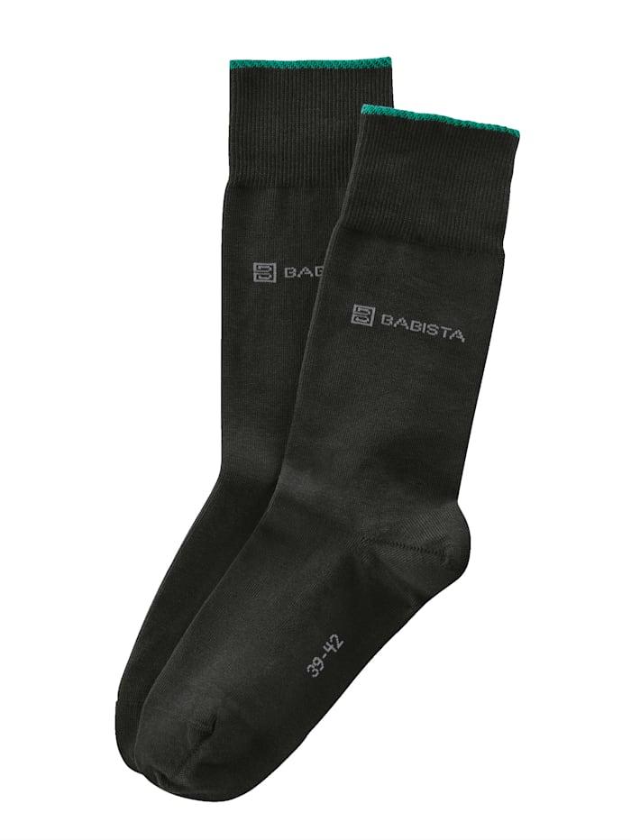 BABISTA Sokken met duurzaam biokatoen, Antraciet