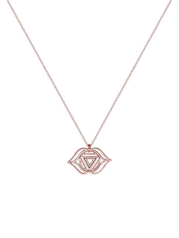 Halskette Ajna Chakra Spirit Anhänger Erbskette 925Er Silber