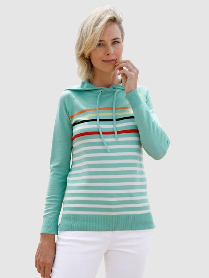 Dress In Pullover mit Streifen, Lindgrün