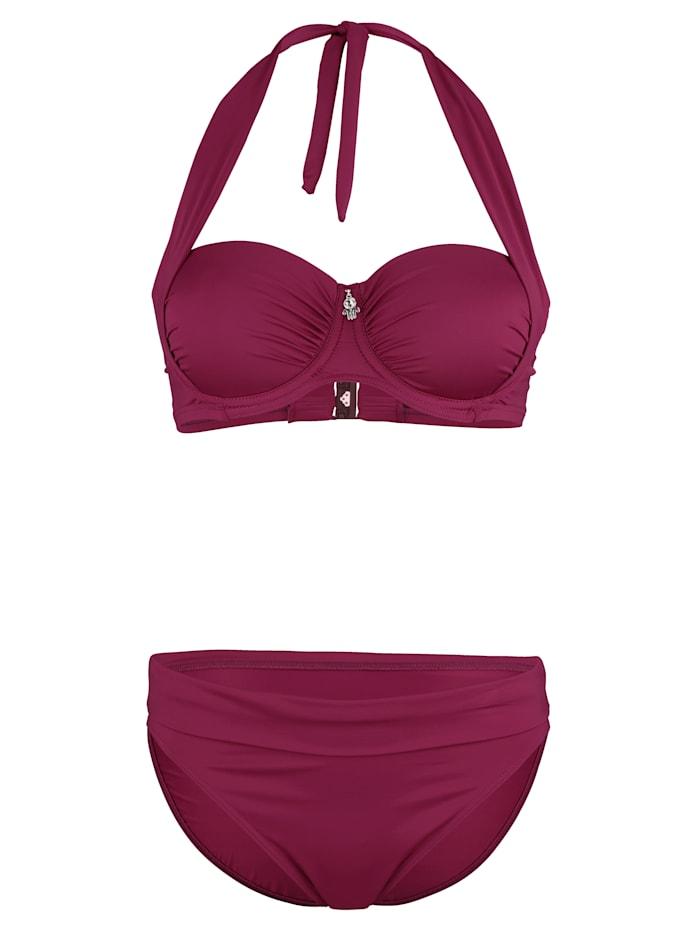 Opera Bikini op verschillende manieren te dragen, Pink