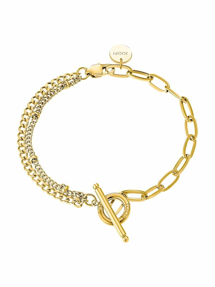 JOOP! Armband für Damen, Edelstahl IP Gold, Gold