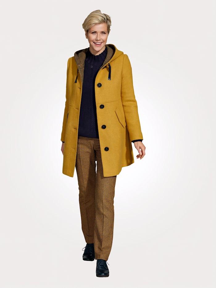 MONA Short coat, Mustard