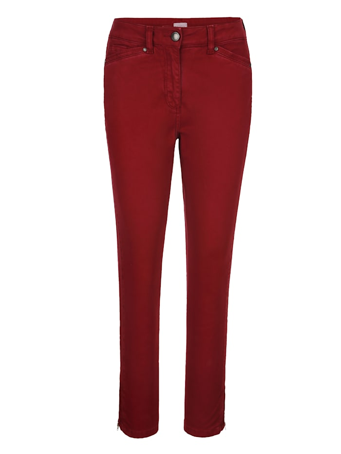 Trousers with chic stitched detailing