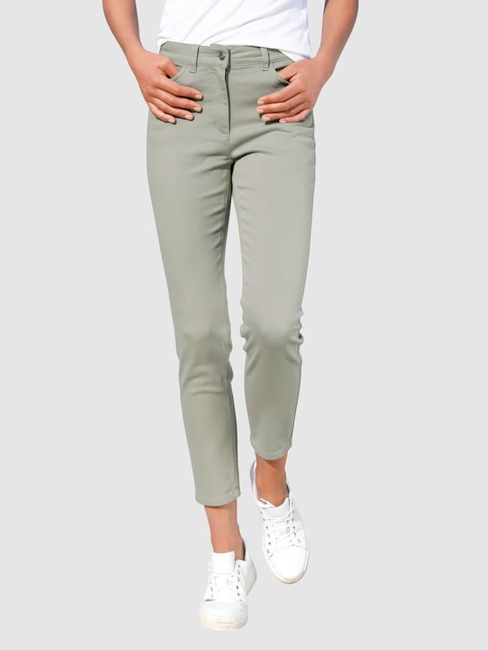Dress In Jeans in smal model, Olijf