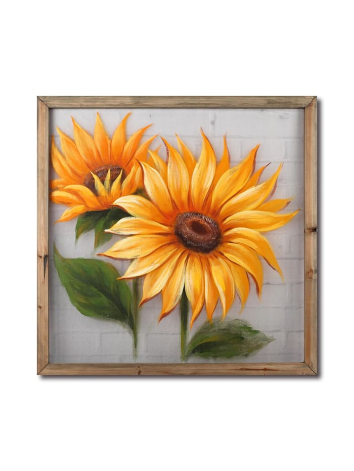 NTK-Collection Wandbild Sonnenblume, Bunt