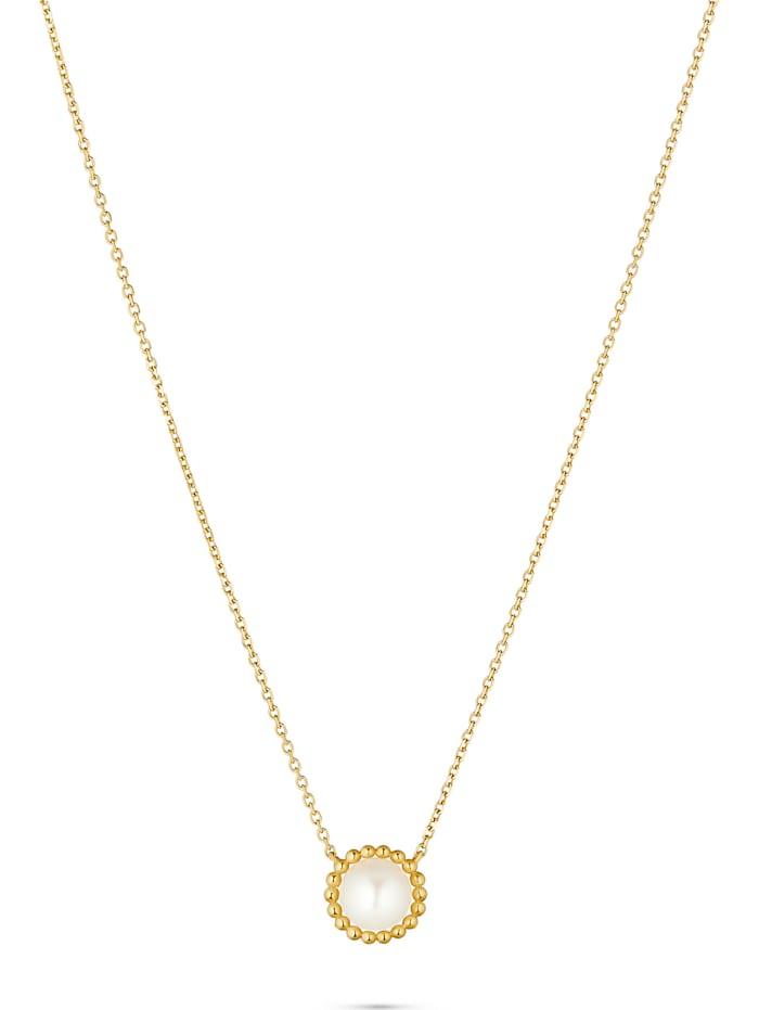 CHRIST Pearls CHRIST Pearls Damen-Kette 375er Gelbgold, gelbgold