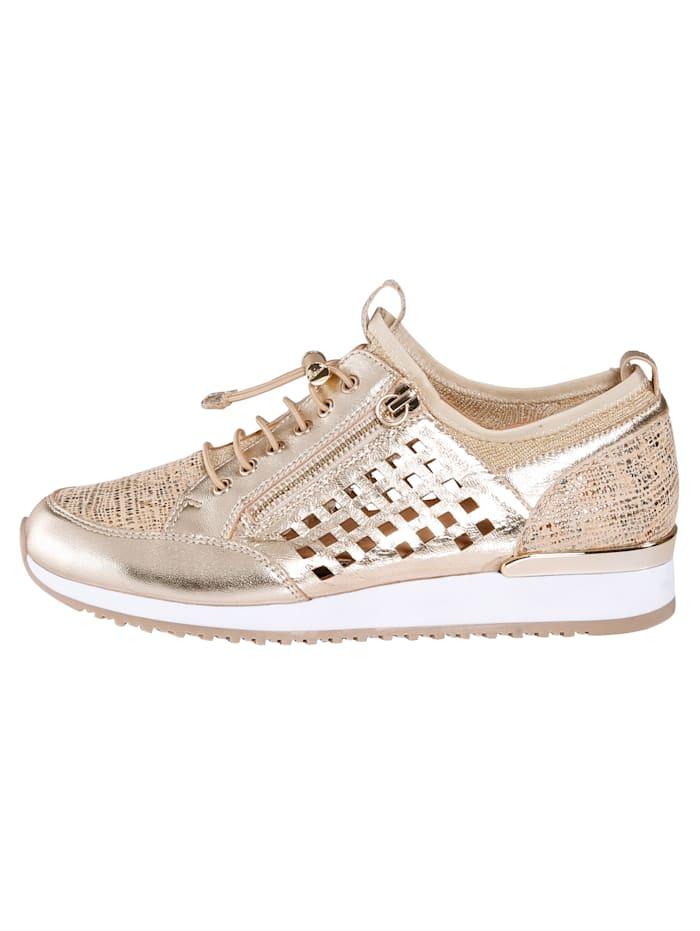 Sneaker mit variablem Zippverschluss