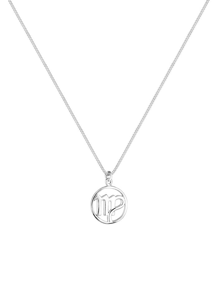 Halskette Sternzeichen Jungfrau 925 Sterling Silber