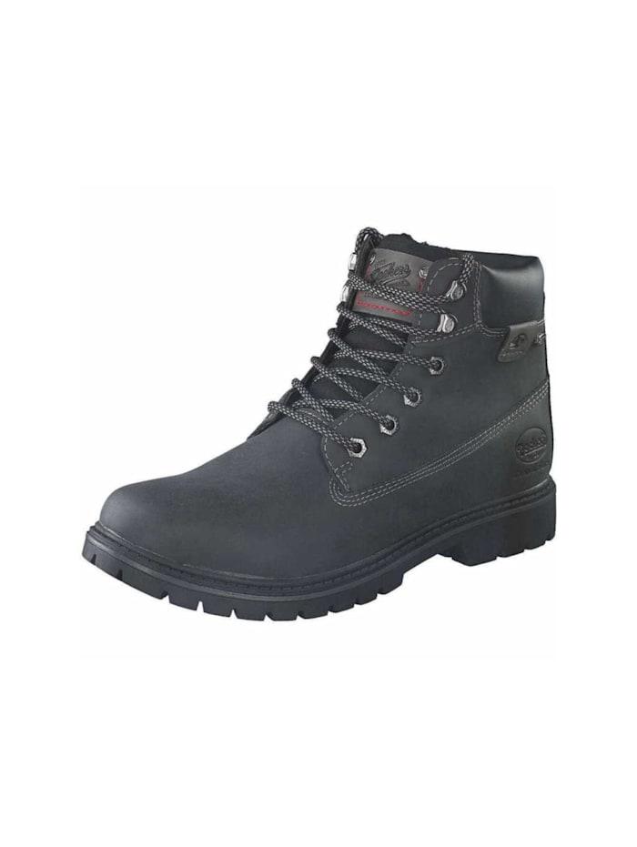 Dockers Stiefel, schwarz