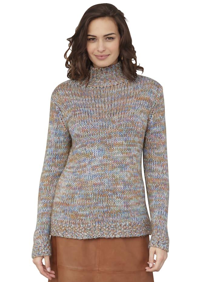 AMY VERMONT Pullover aus bunten Garnen, Multicolor