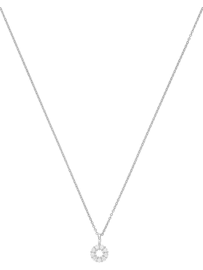 CHRIST C-Collection CHRIST Damen-Kette 585er Weißgold 9 Diamant, weißgold