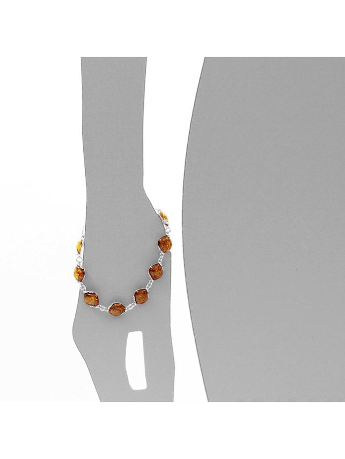 Armband - Sally - Silber 925/000 - Bernstein