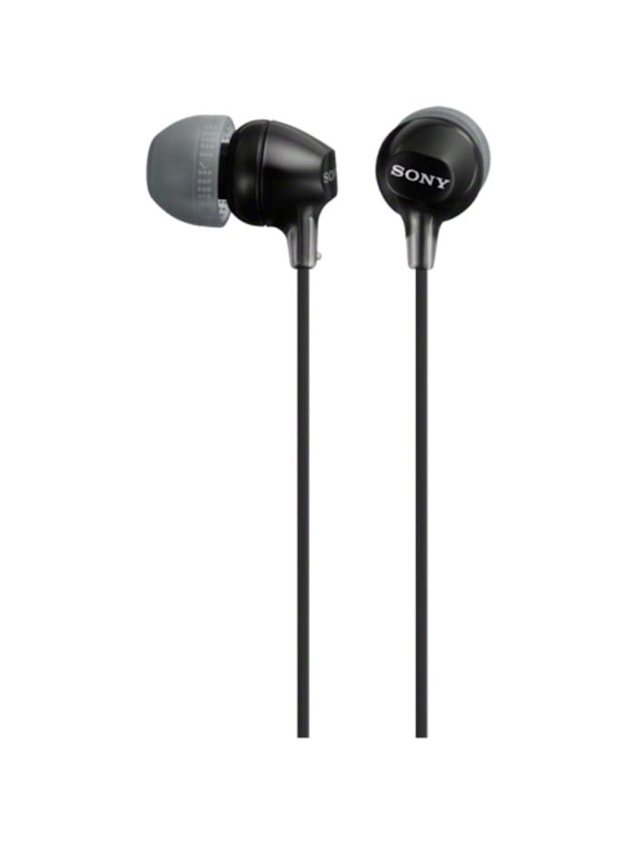 Sony Kopfhörer MDR-EX15APB, Schwarz